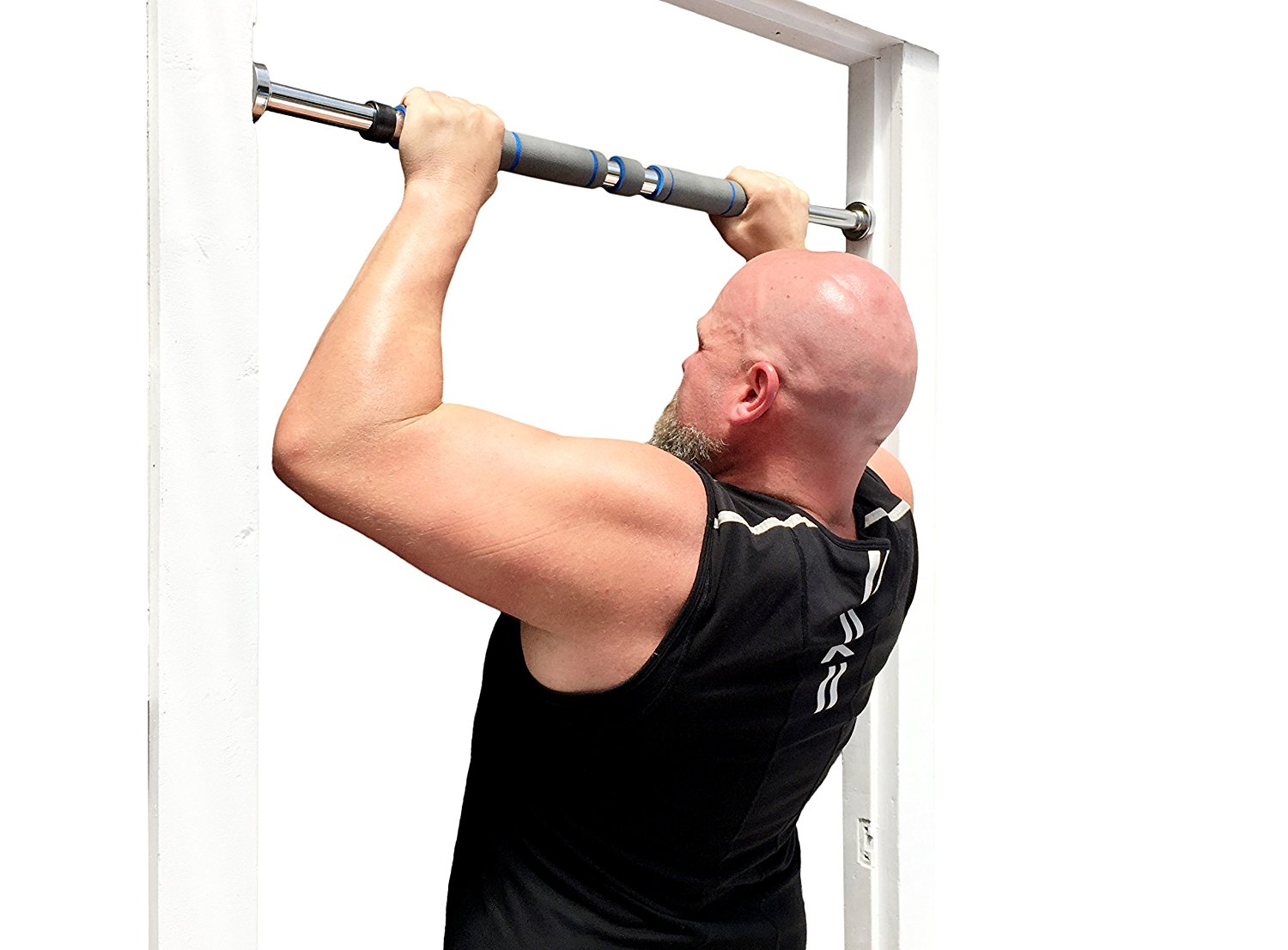 Build Upper body strength: Maximiza Pull Up Bar